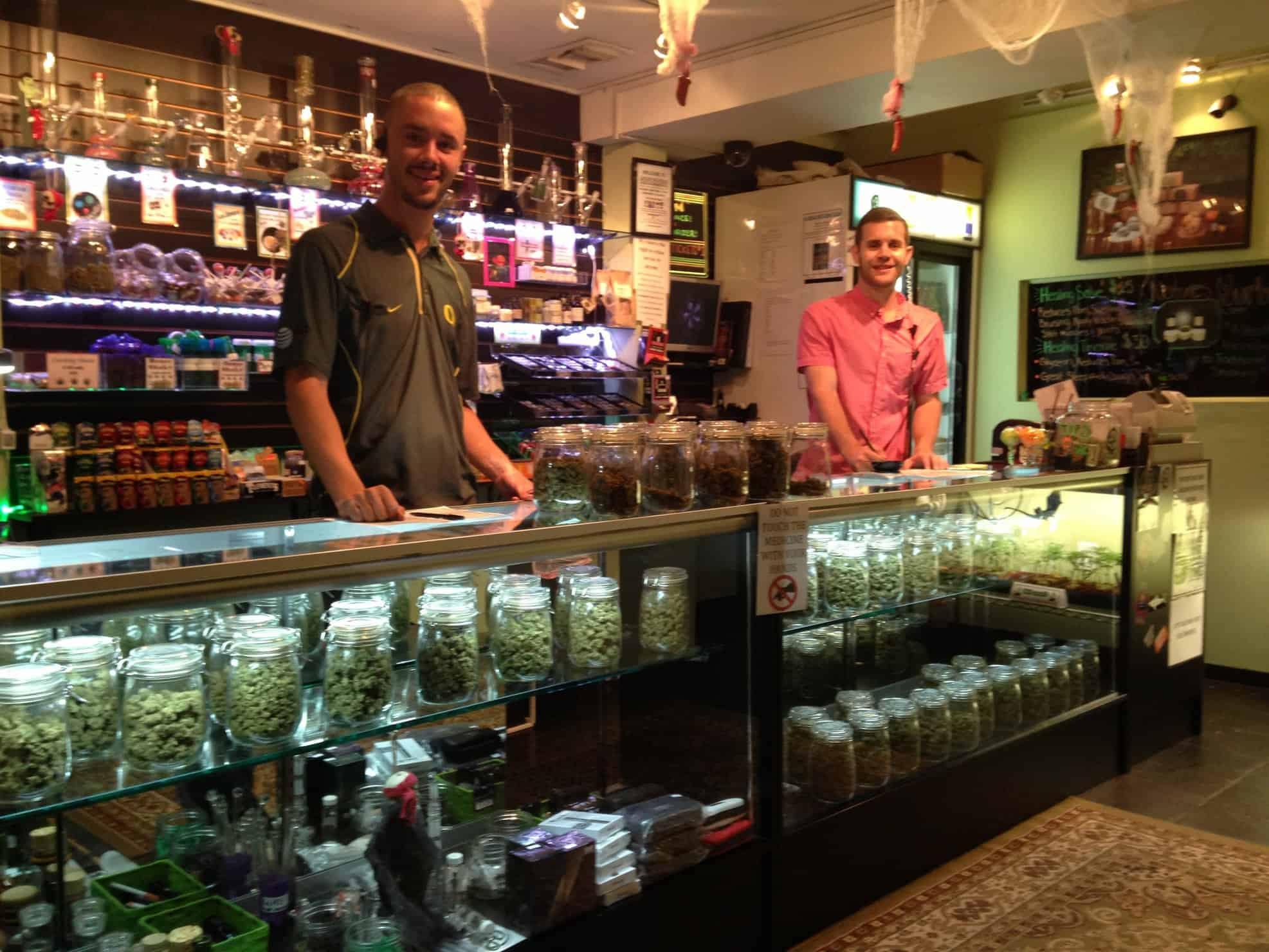 The Working Life of a Cannabis Budtender