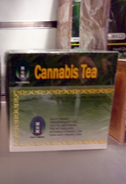 A History of Cannabis Tea