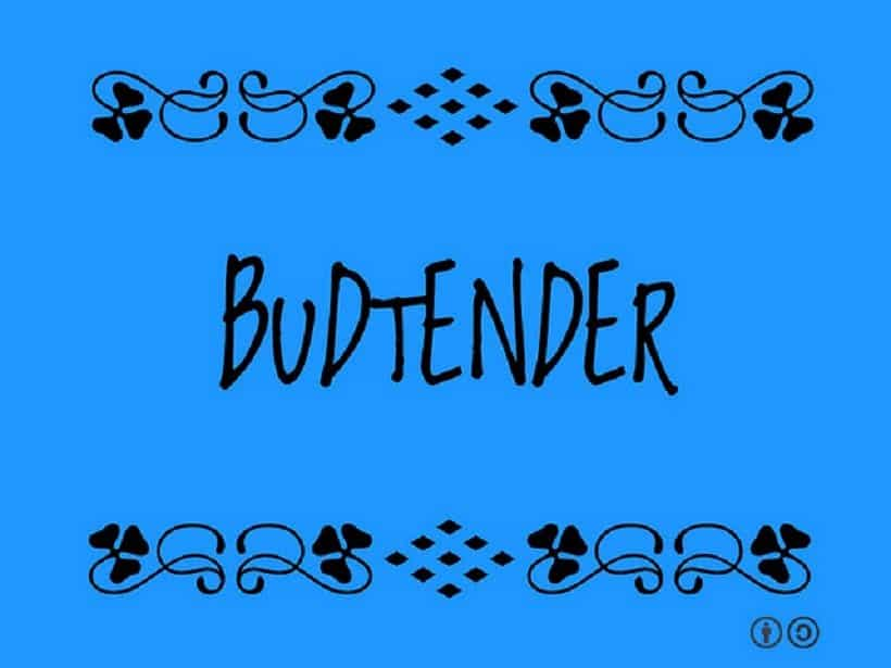 Budtender Job Description