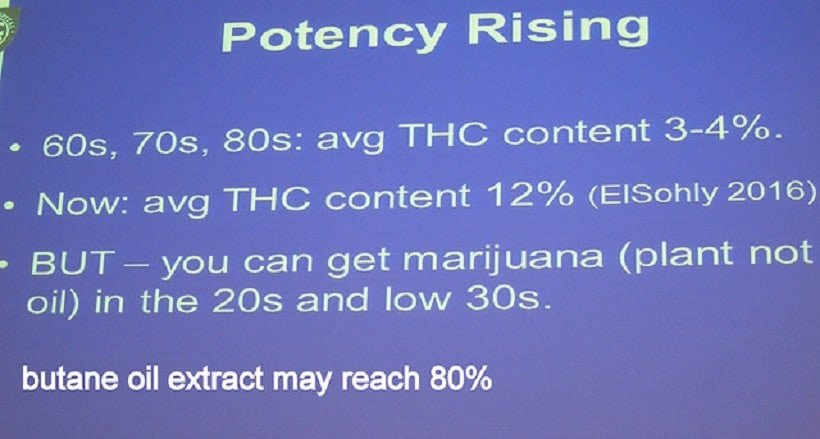 Has Marijuana Potency Gotten Stronger?