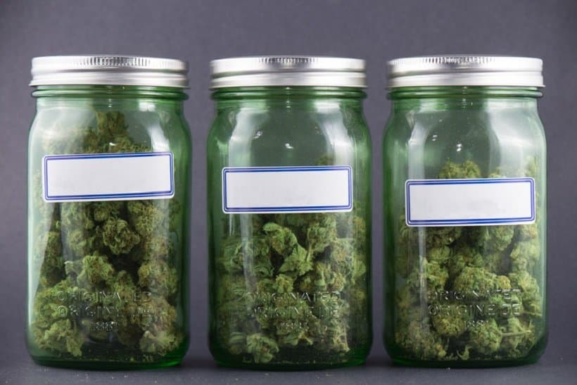 Top Marijuana Strains That Give You Higher Energy in 3 jars.