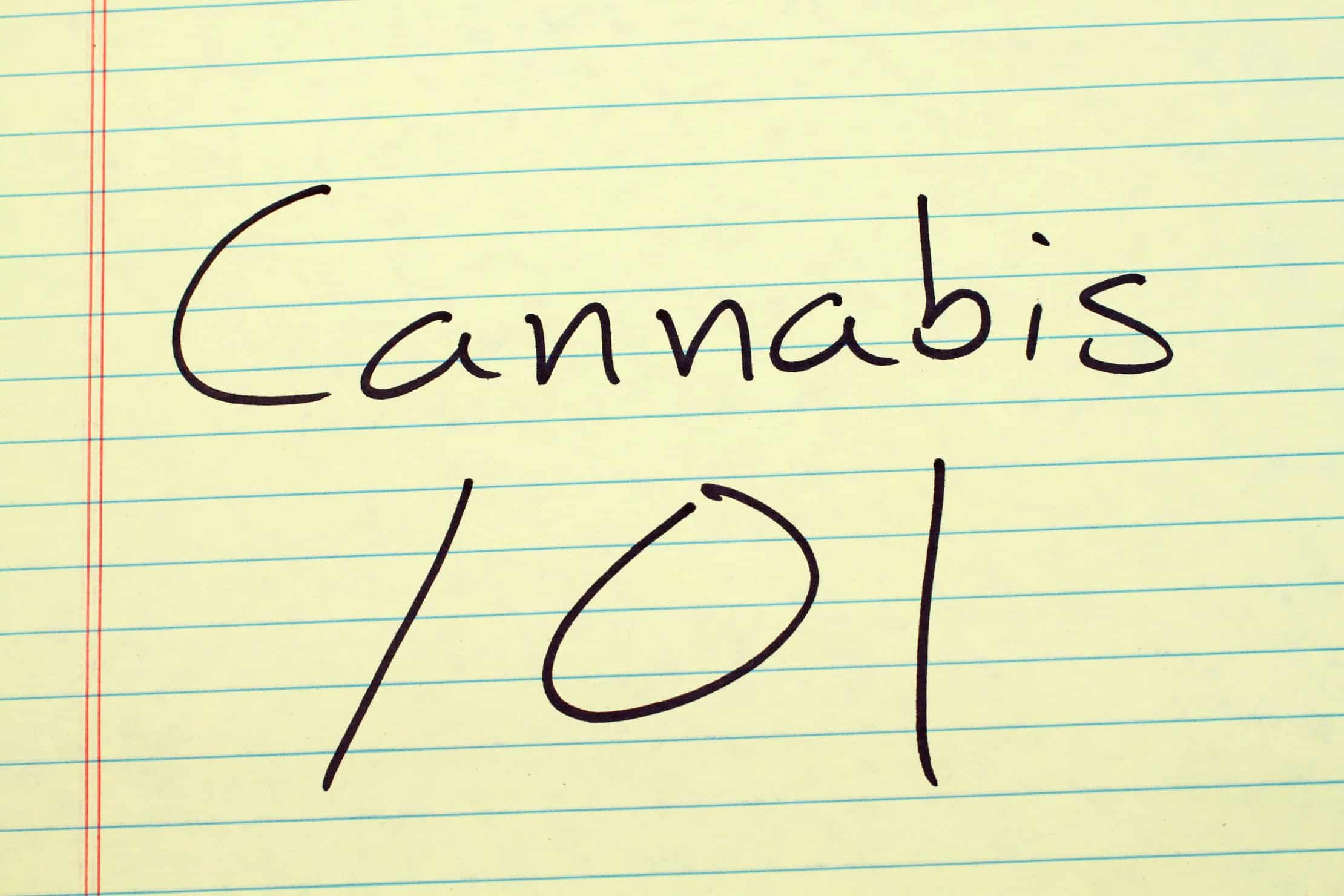 Now is the perfect time to start your marijuana training. Cannabis 101