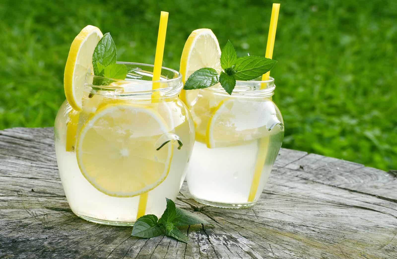 Cannabis infused lemonade