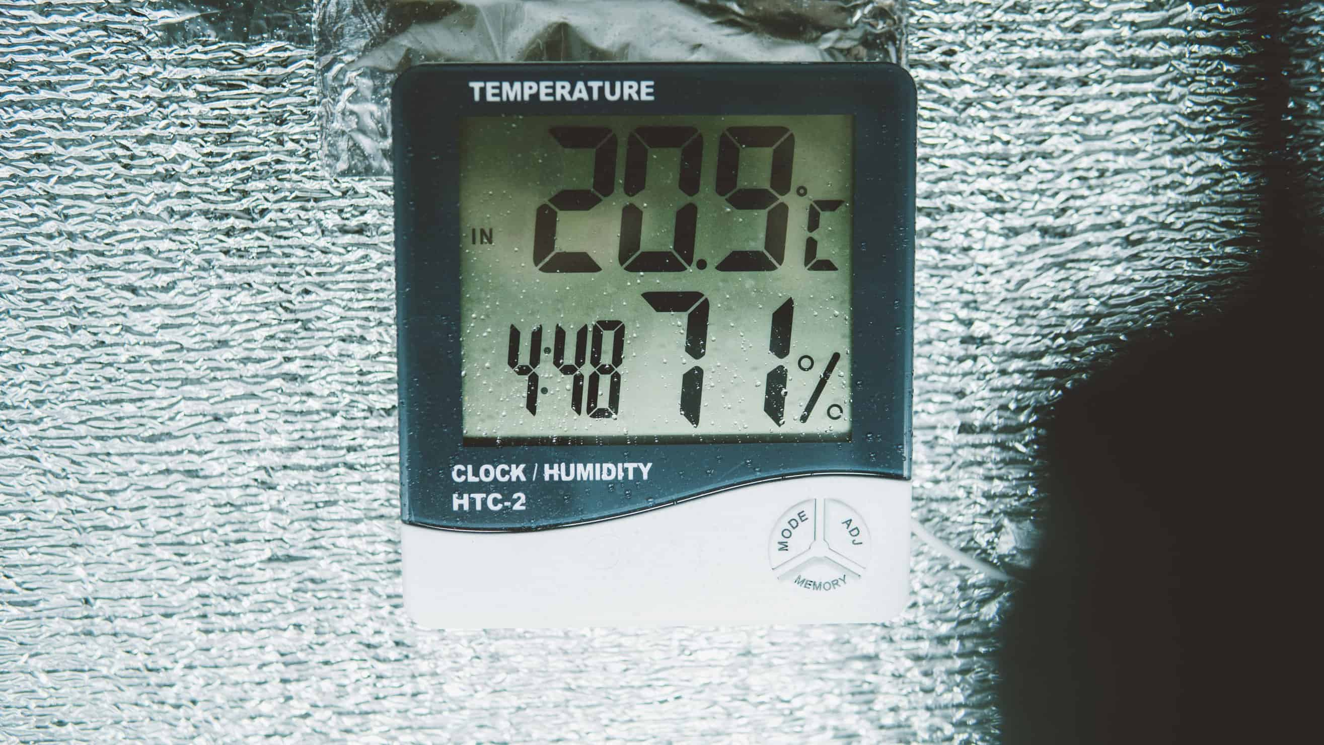 Marijuana Equipment Must-Haves for Home Growers. Clock and thermometer.