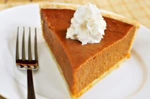 Canna Pumpkin Pie. Cannabis pumpkin pie