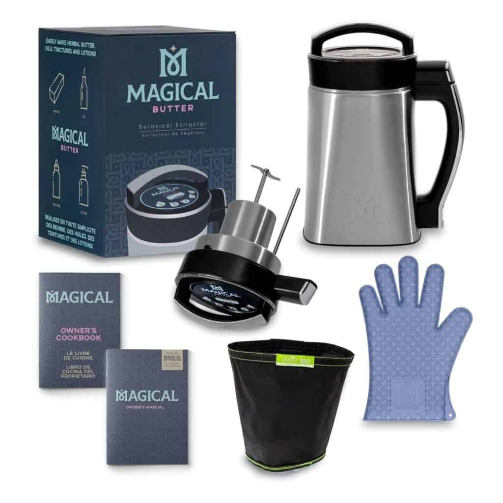 Magical Butter Botanical Extractor and accessories