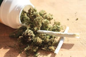 World Health Organization Recommends Rescheduling Cannabis. Cannabis and marijuana joints.