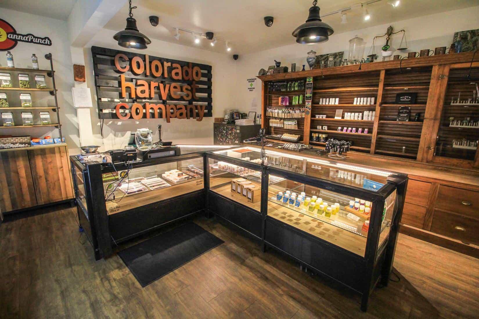 Colorado Has Made More Than $1 Billion From Marijuana Sales. A Colorado dispensary inside view.
