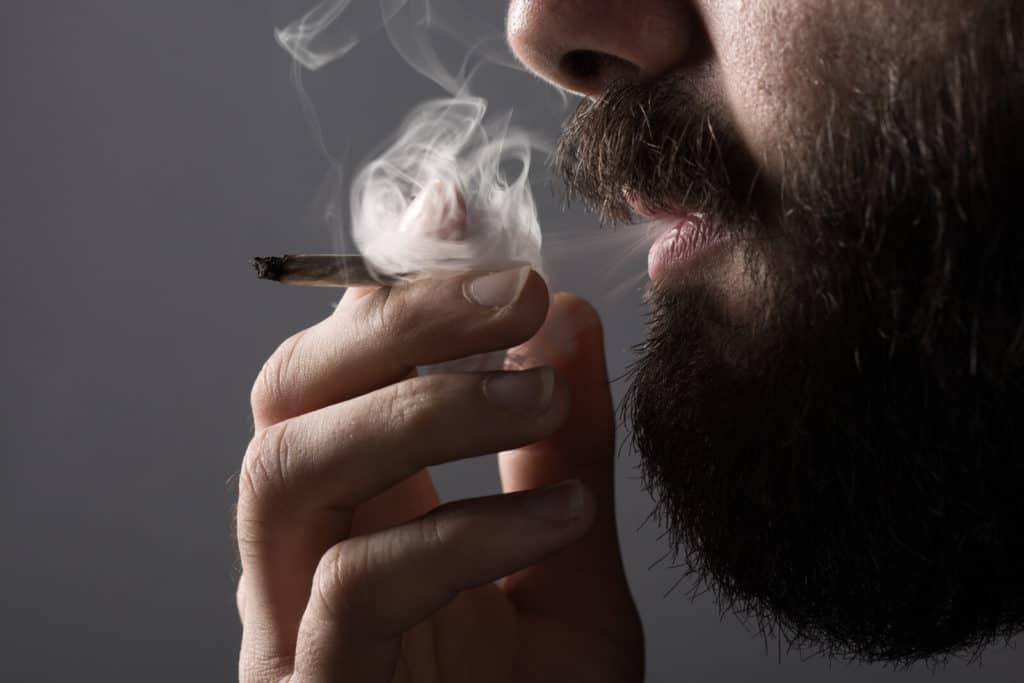 Man Arrested For Smoking Pot While In Court For A Marijuana Charge