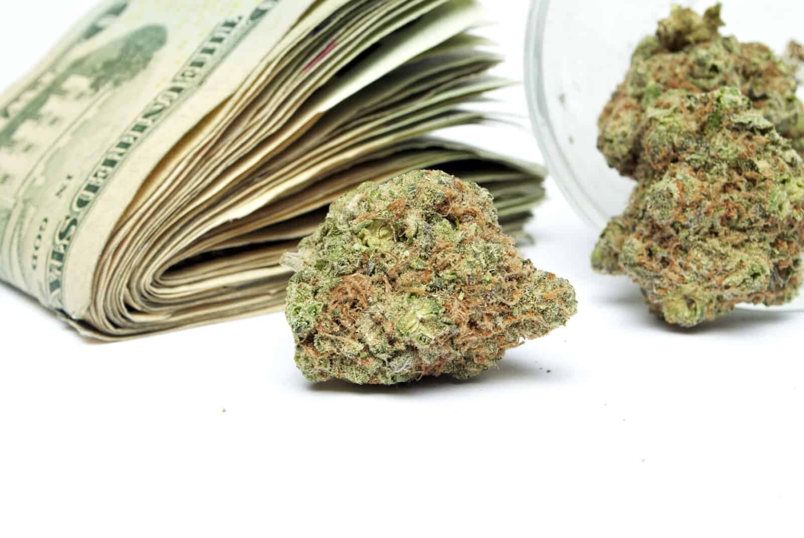Cannabis salaries. Marijuana money