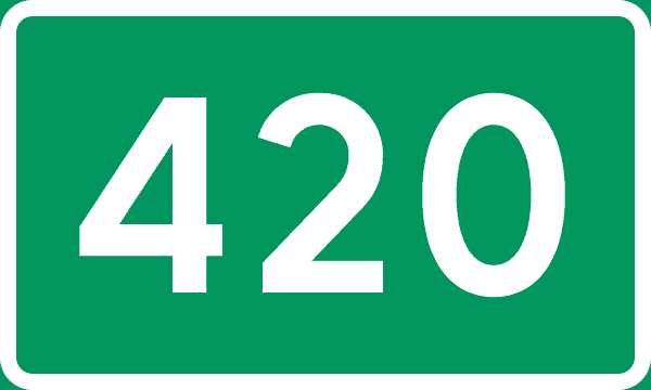 420 Quotes To read: And Everything Else You Should Know About 420. 420 sign.