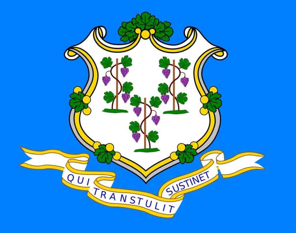Cannabis Laws in Connecticut. Connecticut state emblem.