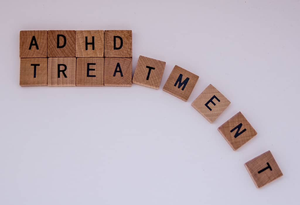CBD for ADHD/ADD: is there any correlation? Letter blocks.