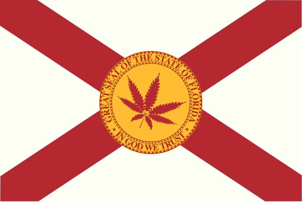 Is Cannabis Legal in Florida? Florida state seal.