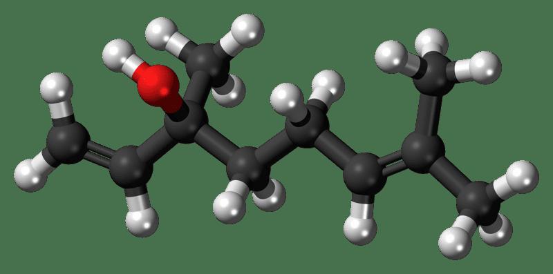 Terpene molecule, Guide to Cannabis Derived Terpene Linalool