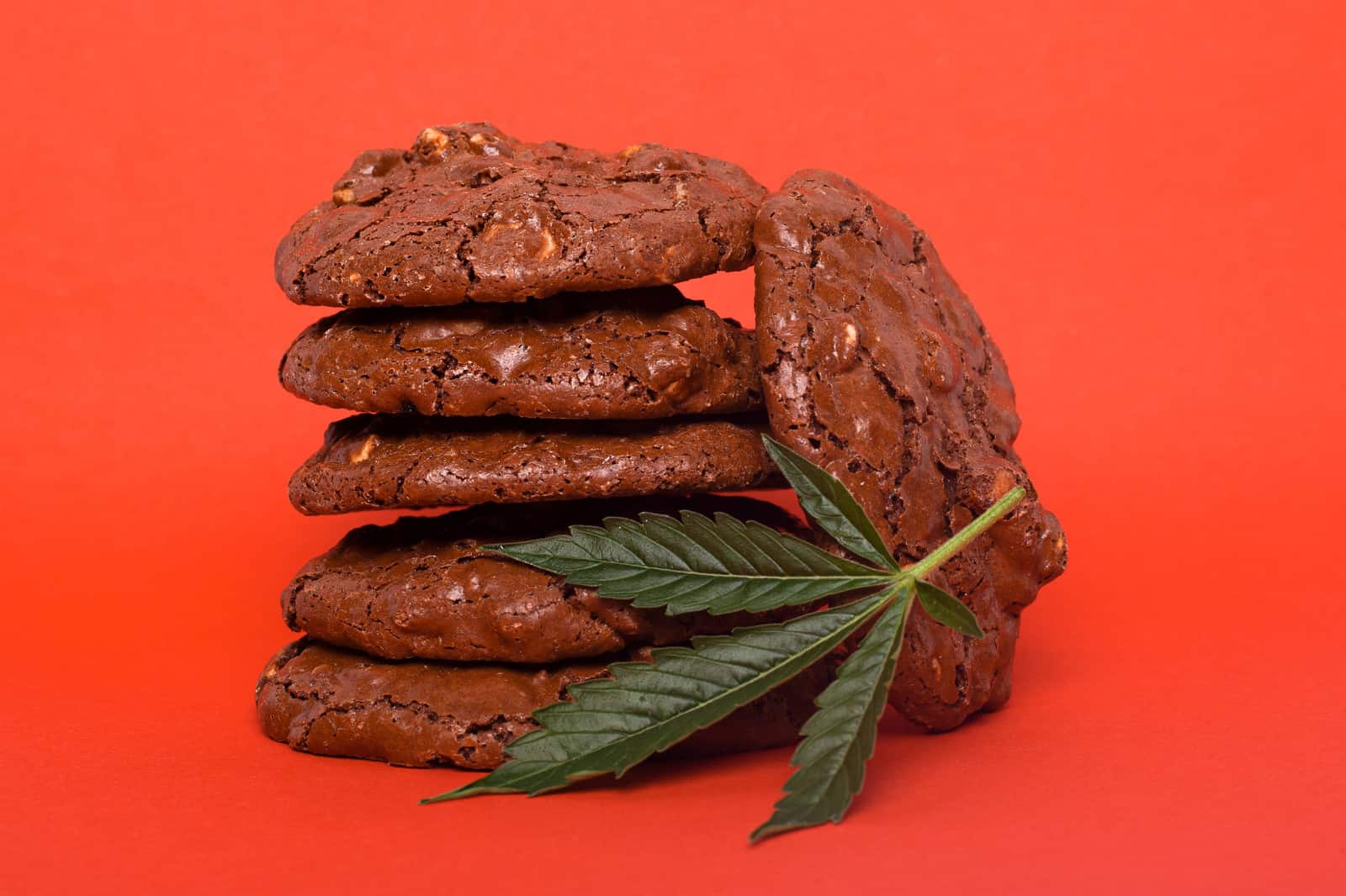 How Long Do Marijuana Edibles Last? Stack of cookies.