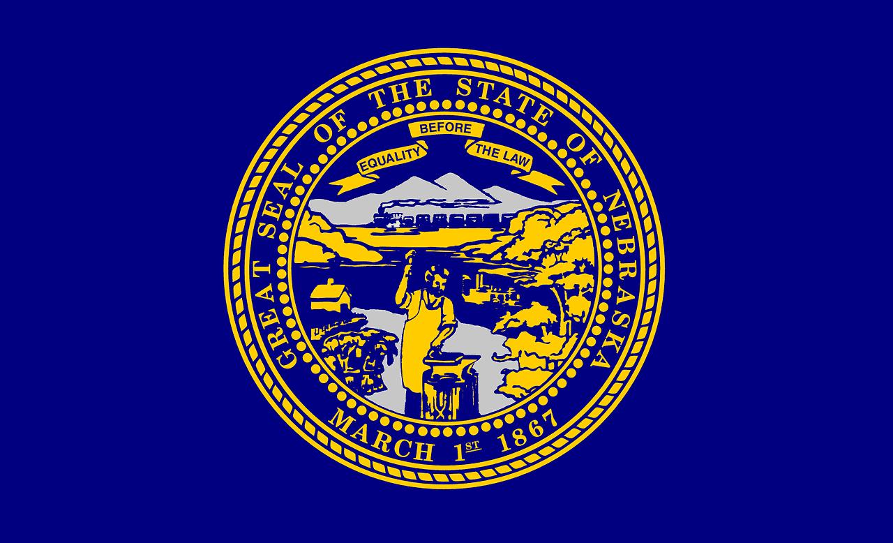 Is Cannabis Legal in Nebraska? Nebraska state seal.