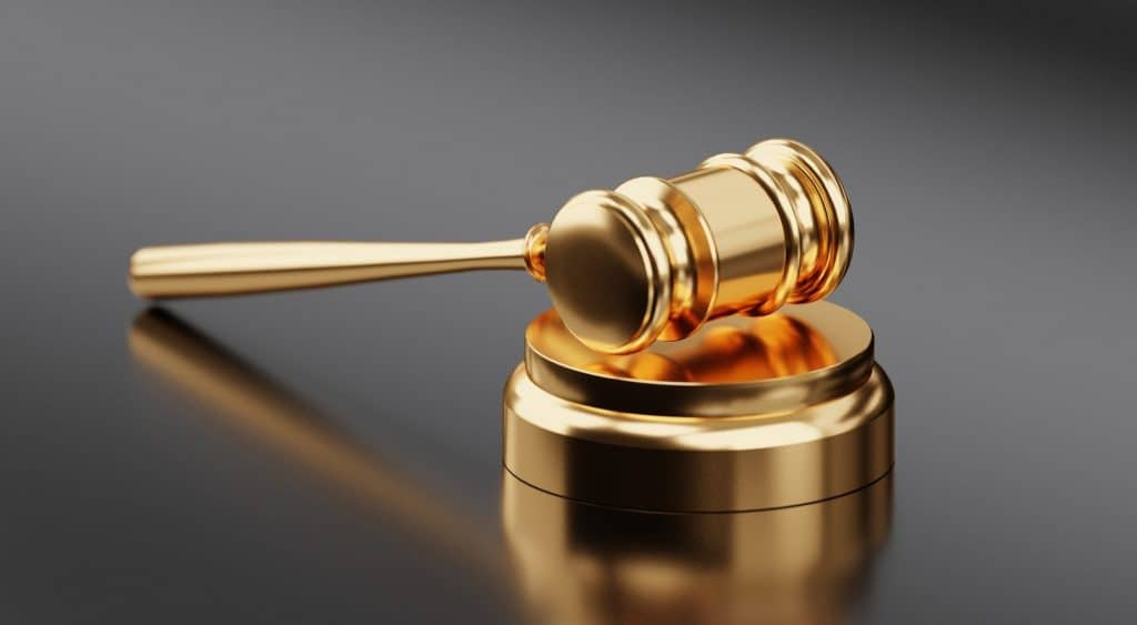 Which States Have Legalized Recreational Cannabis? Gold judge's mallet.
