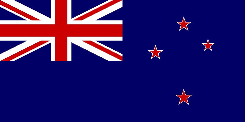 Marijuana Referendum in New Zealand. New Zealand Flag.