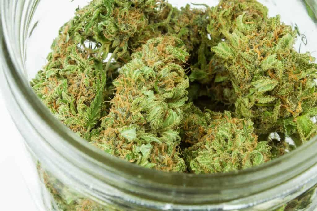 How COVID-19 Has Affected the Marijuana Industry. Jar of marijuana.