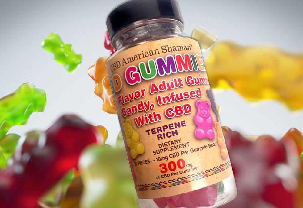 CBD American Shamen CBD Gummies