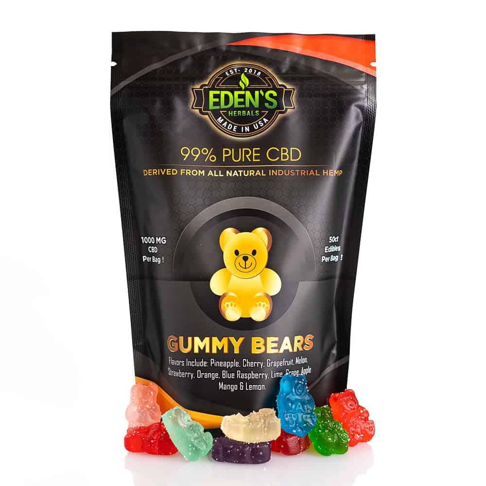 Eden's Herbals CBD Gummies