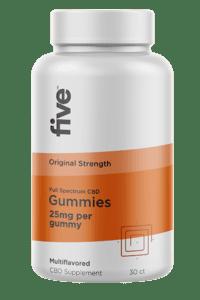 Five CBD Gummies