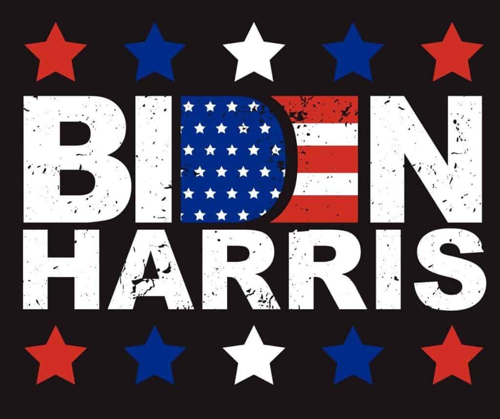 What Does a Joe Biden Presidential Victory Mean for the Future of Marijuana? Biden Harris sign.