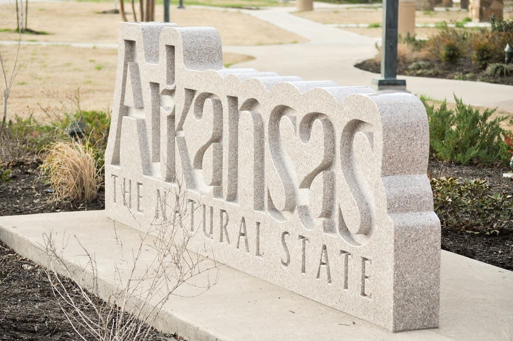 Arkansas sign