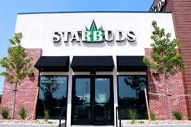 StarBuds Marijuana Dispensary storefront in Colorado.
