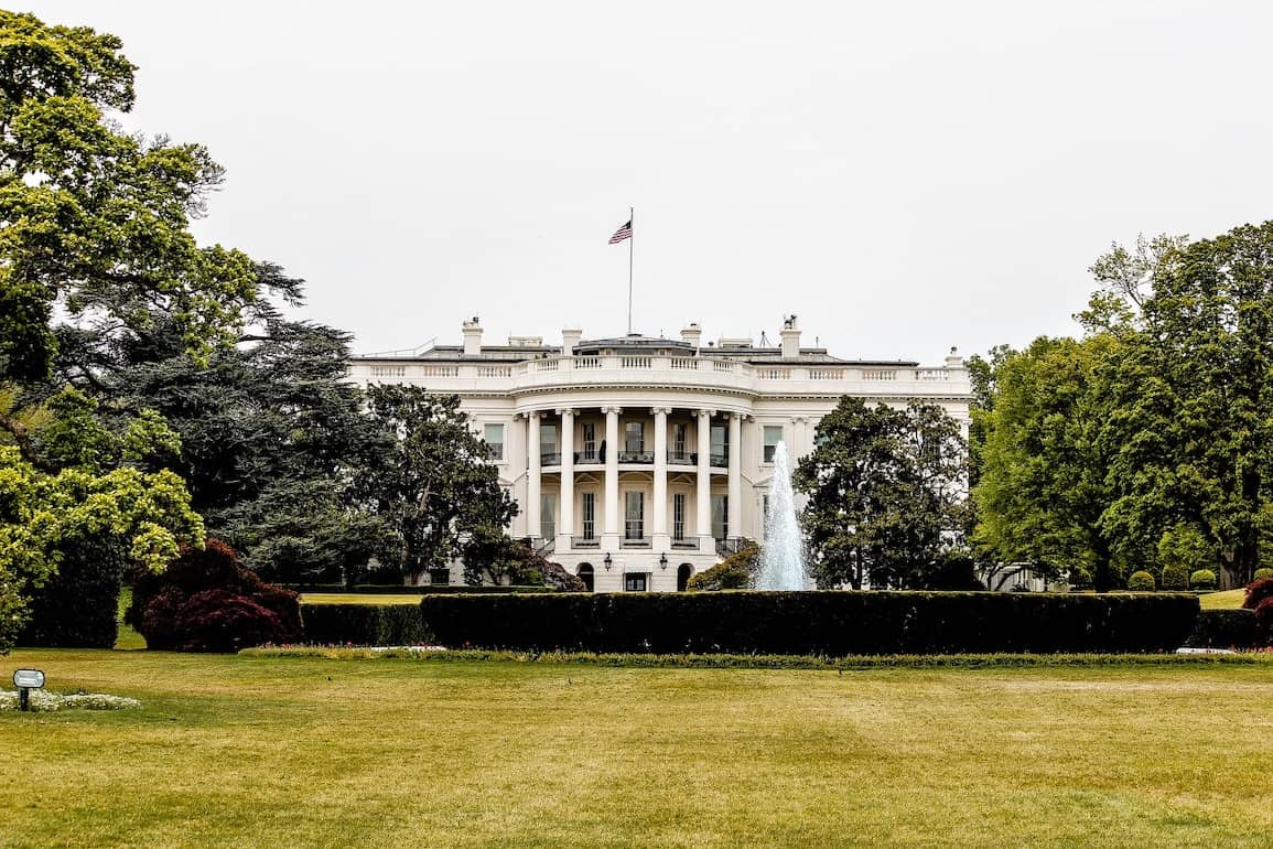 White House cabinet members discussing cannabis policy
