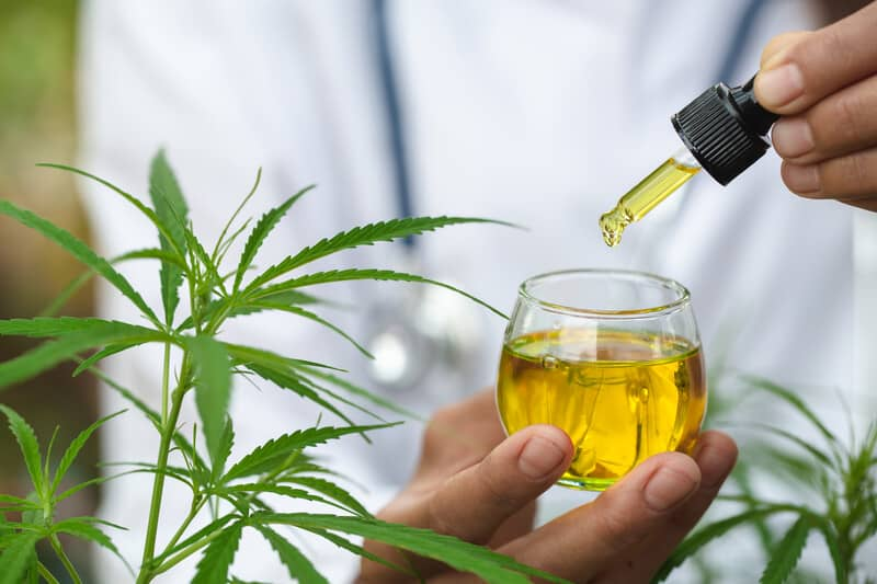 cannabis tincture with honey