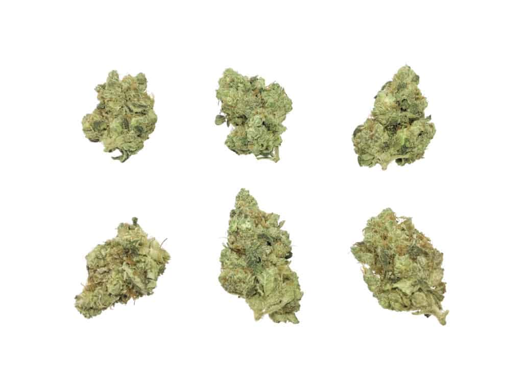 different weed strains on white background, Funny Weed Strain Names