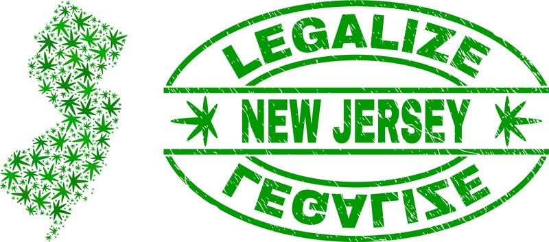 New Jersey legalize sign, New Jersey legalizes cannabis