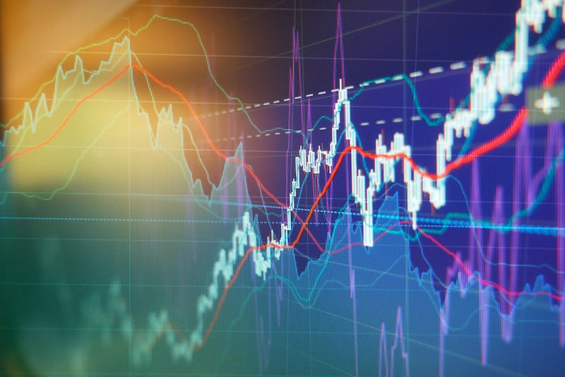 Graph of top cannabis stocks for March 2021