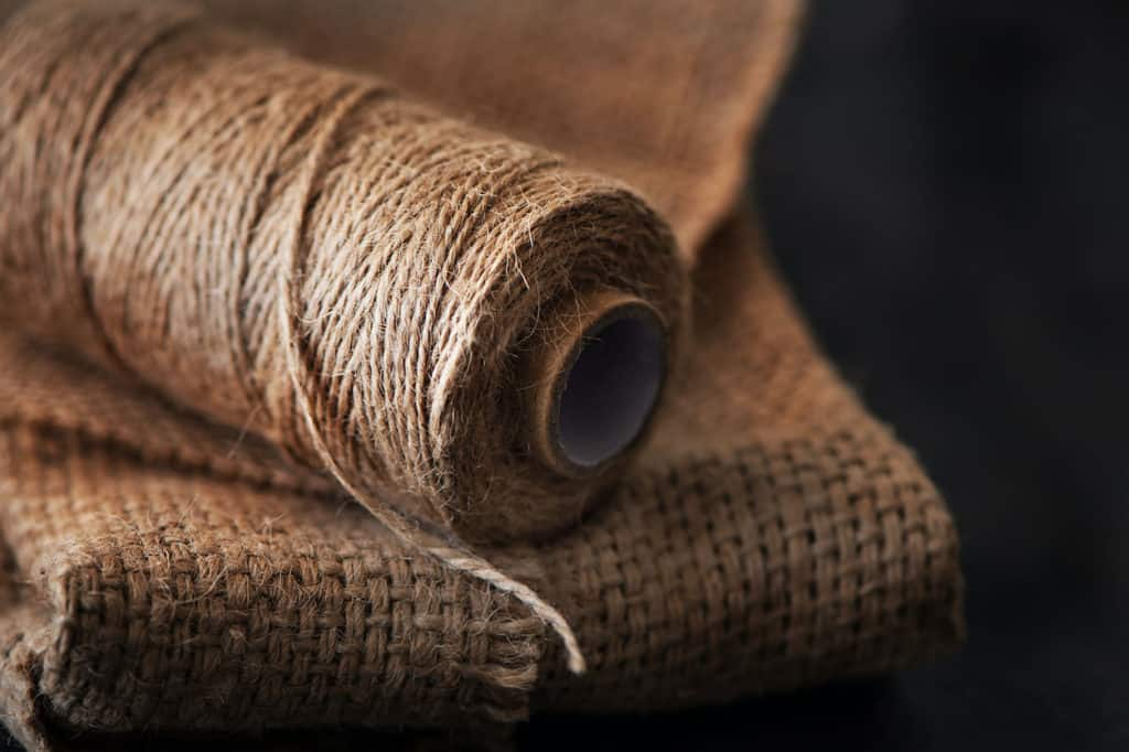 hemp yarn on hemp fiber