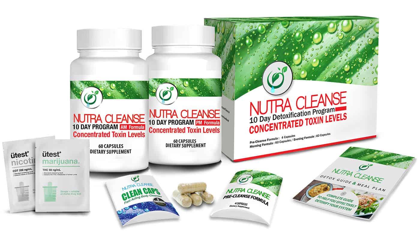 Nutra cleanse 10 day ultra detoxification program