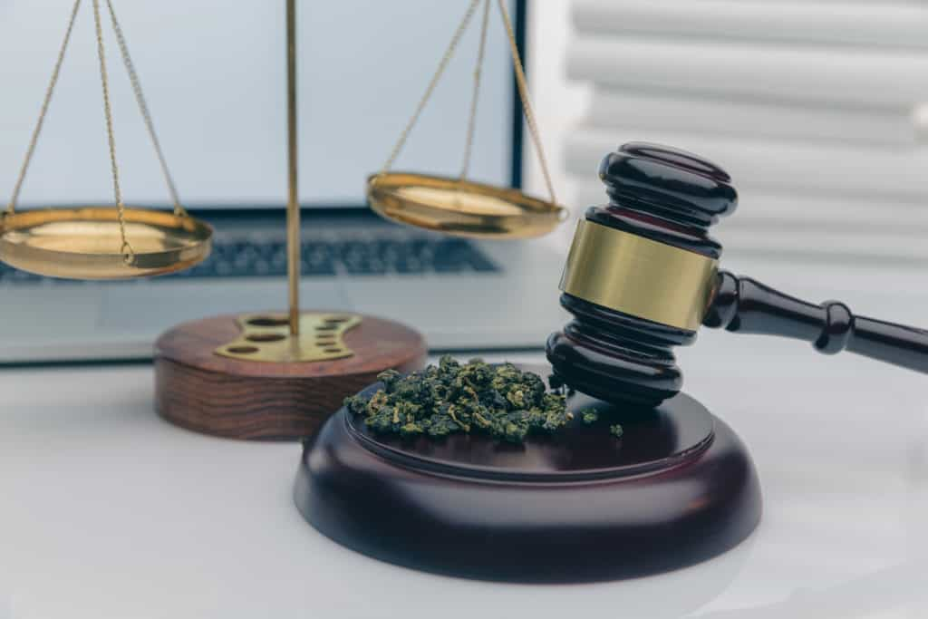 cannabis on a judges mallet, Federal Legalization of Weed