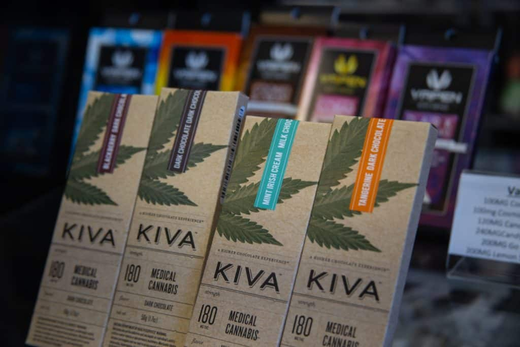 kiva packaging, best cannabis brands