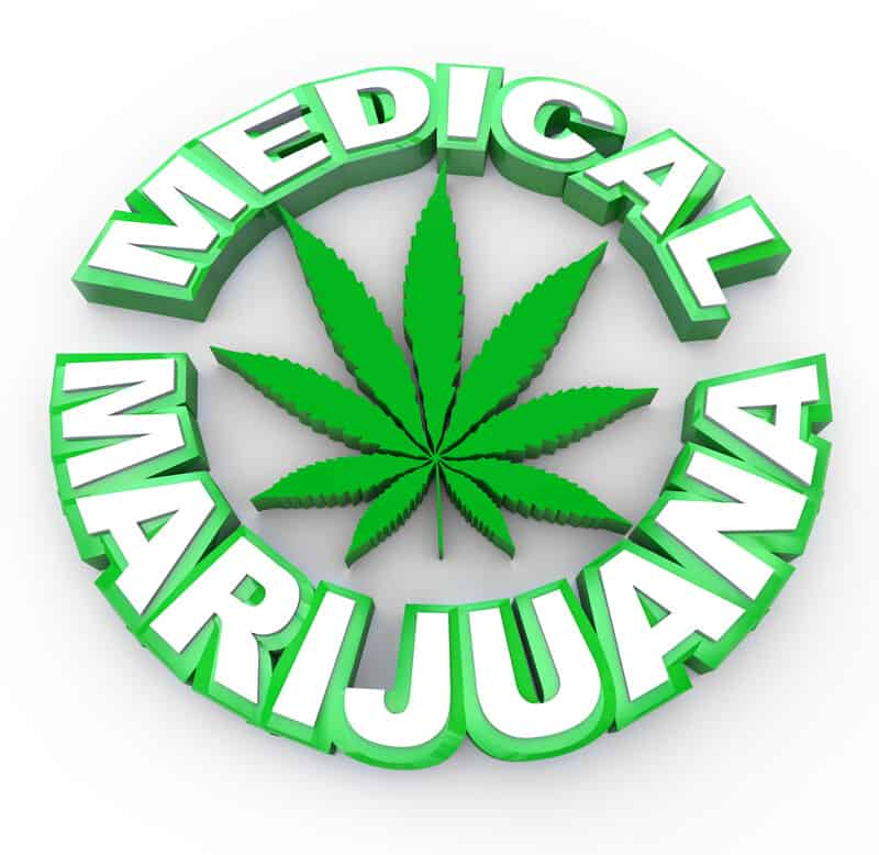 medical marijuana written in green and white with a green weed leave, How To Apply For Medical Marijuana In Florida