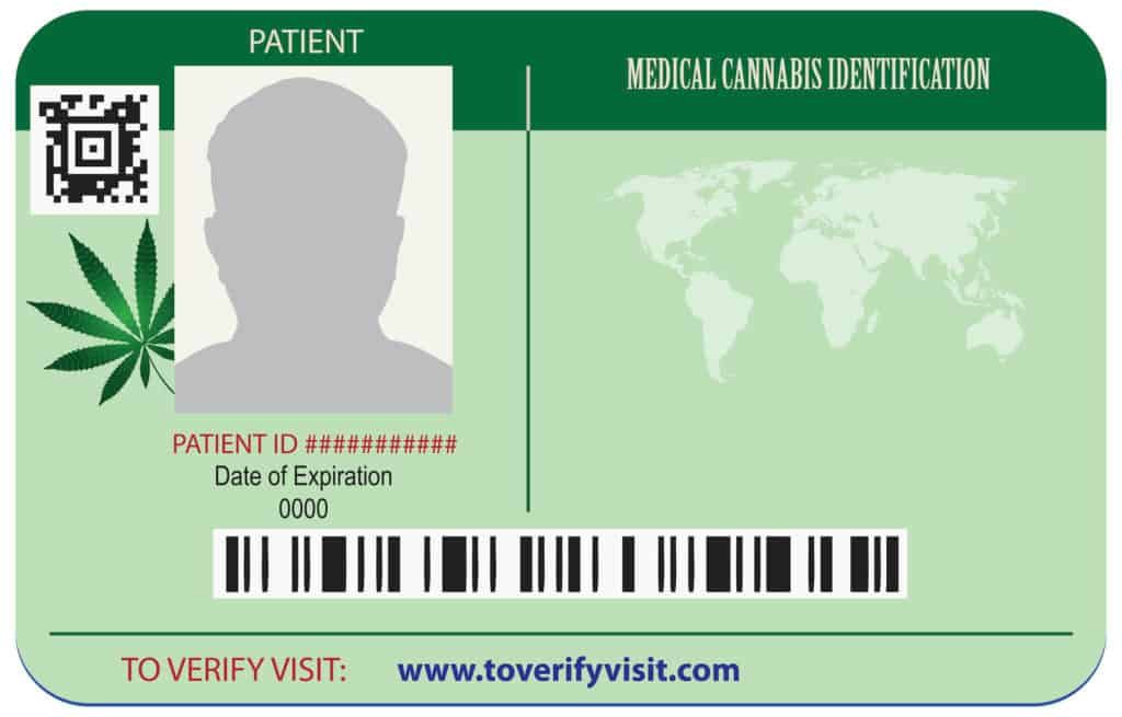Identification cards in the center of the patient's marijuana, qualifying conditions for a medical card in Florida
