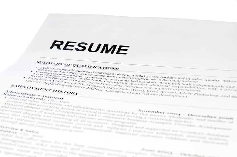 marijuana grower jobs resume